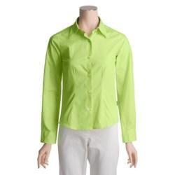 Barbour Rose-Trimmed Shirt - Long Sleeve (For Women)