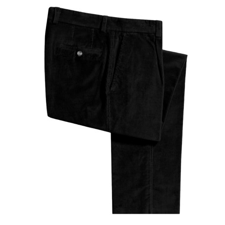 Barbour Relaxed Fit Corduroy Pants - Pleated (For Men)