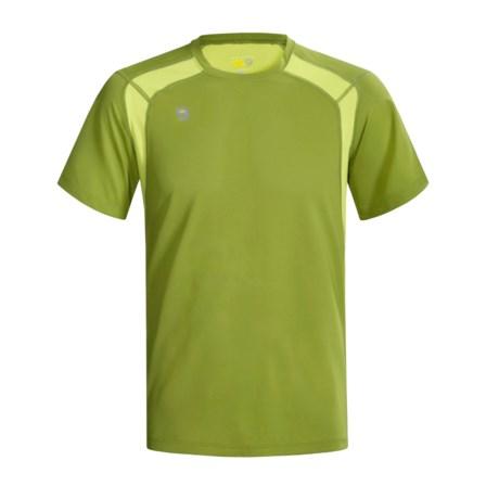 Mountain Hardwear Double Wicked Lite T-Shirt - Short Sleeve (For Men)