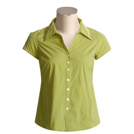 Mountain Hardwear Scenic Route Shirt - UPF 25, Short Sleeve (For Women)