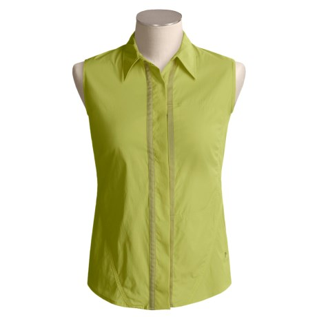 Mountain Hardwear Trailhead Shirt - UPF 25, Sleeveless (For Women)