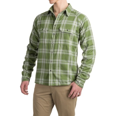 Allen Fly Fishing Exterus Fireside Flannel Shirt - Lined, Long Sleeve (For Men)
