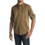 Timberland Twill Cargo Shirt - Long Sleeve (For Men)
