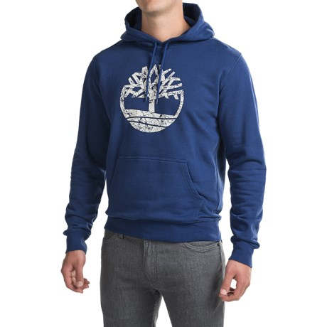 Timberland Oyster River Tree Logo Hoodie (For Men)
