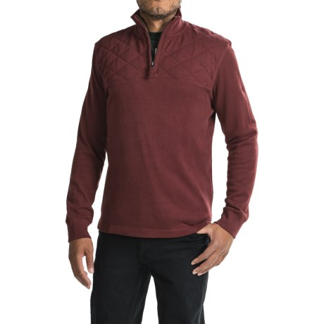 Timberland Fort River Shirt - Zip Neck, Long Sleeve (For Men)