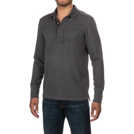 Timberland Palmer River Rugby Shirt - Cotton Jersey, Long Sleeve (For Men)
