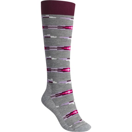 Burton Shadow Midweight Snowboard Socks - Over the Calf (For Women)