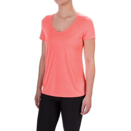Layer 8 Mini-Stripe T-Shirt - Short Sleeve (For Women)