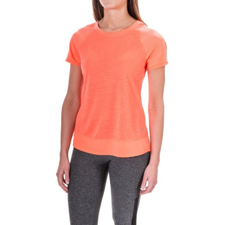 Layer 8 Running T-Shirt - Short Sleeve (For Women)