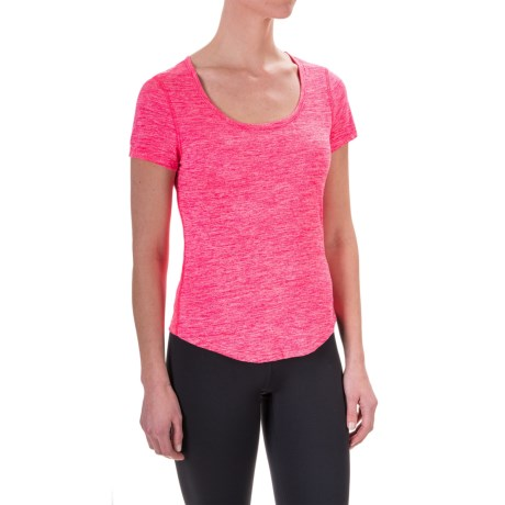 Apana Yoga Essential T-Shirt - Short Sleeve (For Women)