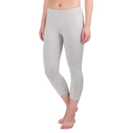 Apana Tight Yoga Capri Leggings (For Women)