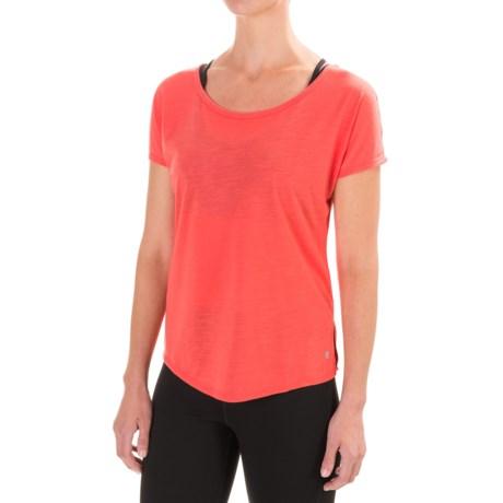 Apana Keyhole T-Shirt - Short Sleeve (For Women)