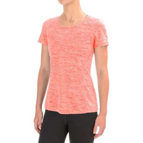Layer 8 Fuel Fitness T-Shirt - Short Sleeve (For Women)