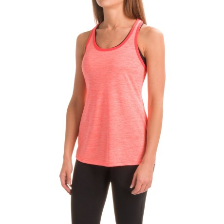 Layer 8 Cool Keyhole Tank Top - Racerback (For Women)