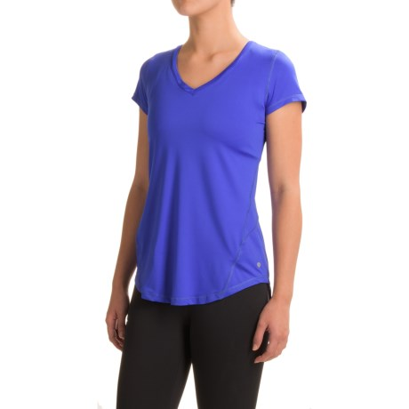Layer 8 Swift Tech T-Shirt - V-Neck, Short Sleeve (For Women)