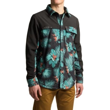 Kavu Banks Fleece Jacket - Snap Front (For Men)