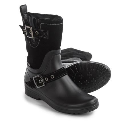 Santana Canada Cayley Rain Boots - Suede (For Women)