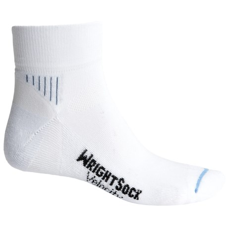 Wrightsock Velocity Socks - Quarter Crew (For Men and Women)