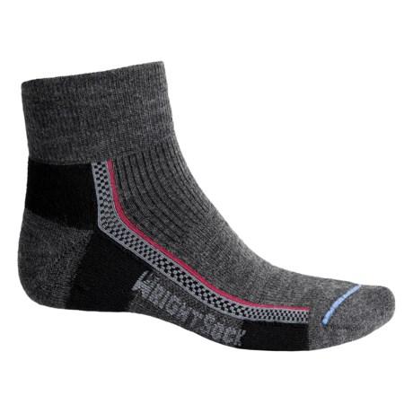 Wrightsock Slim Hiking Socks - Merino Wool, Quarter Crew (For Men and Women)