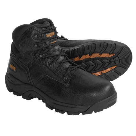 Magnum Precision V-Lite Work Boots - Waterproof, Composite Safety Toe (For Men)