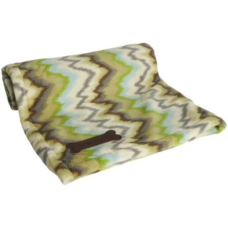 """Waverly Patterned Pet Throw Blanket - 30x40"""""""