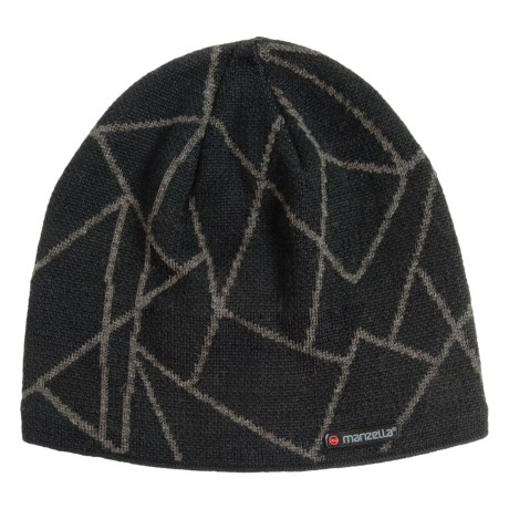 Manzella Schiller Beanie - Wool Blend (For Men)