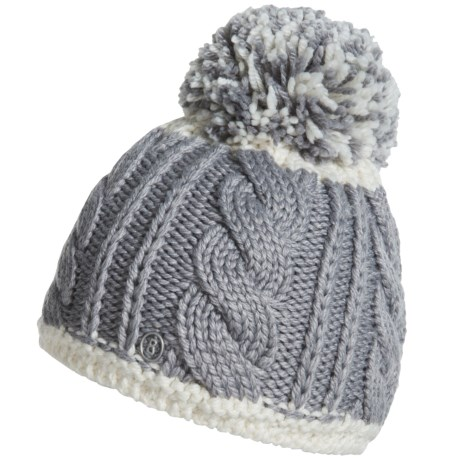 Bogner Erla Pom Hat - Virgin Wool Blend (For Women)