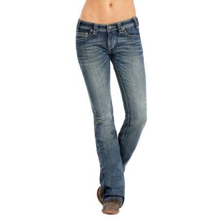 Rock & Roll Cowgirl Rival Multi-Seam Jeans - Low Rise, Bootcut (For Women)