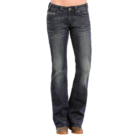 Rock & Roll Cowgirl Natural Riding Jeans - Bootcut (For Women)