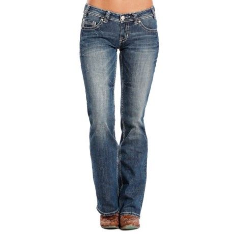 Rock & Roll Cowgirl Arrow Rain Riding Jeans - Bootcut (For Women)