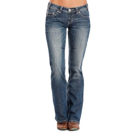Rock & Roll Cowgirl Arrow Rain Riding Jeans - Bootcut (For Women)