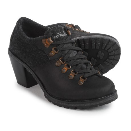 Woolrich Cascade Range Oxford Shoes - Leather (For Women)