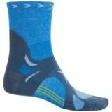 Lorpen T3 CoolMax® Ultralight Trail Running Socks - Quarter Crew (For Men)