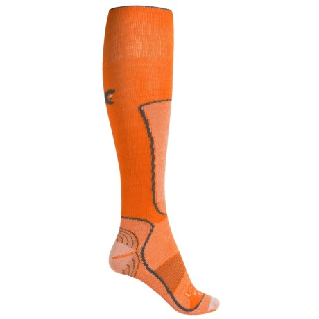 Lorpen Lightweight Wintersports Socks - Merino Wool-Silk, Over the Calf (For Women)