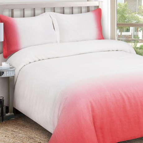 Melange Home Ombre Duvet Set - Full-Queen, Linen