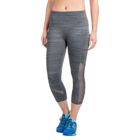 Reebok Fearless High-Rise Capris (For Women)