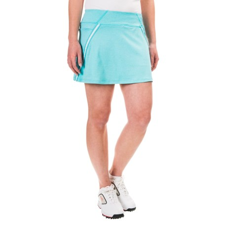 Reebok Striped Elastic Skorts (For Women)
