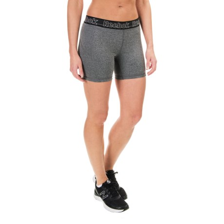 "Reebok Spark Solid Shorts - 5"" (For Women)"