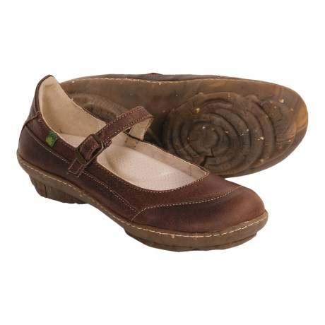 El Naturalista Ginko Mary Jane Shoes (For Women
