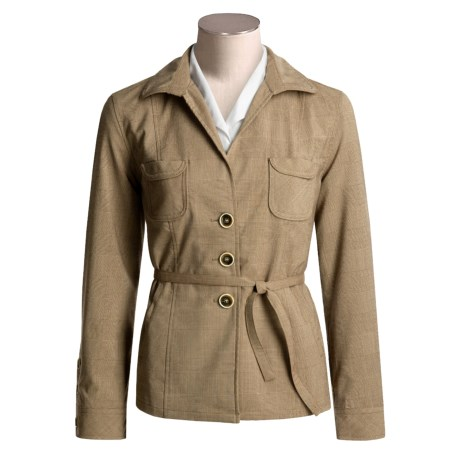 TravelSmith Metro Plaid Jacket (For Women)