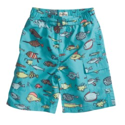 Hatley Swim Trunks - UPF 50, Built-In Briefs (For Boys)