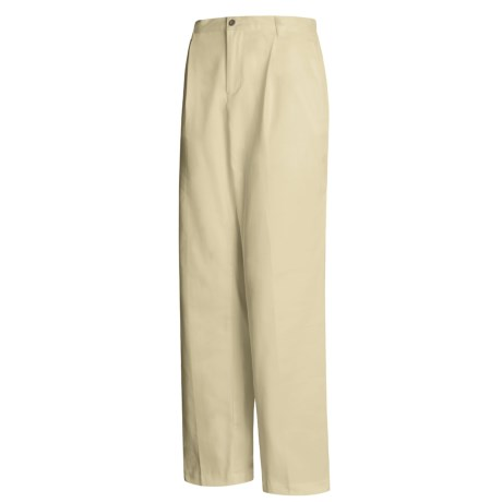 Tailored Waist Pants - Pleated Front (For Women)