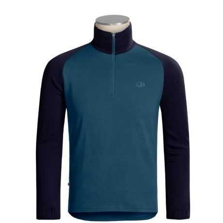 Icebreaker Bodyfit 260 Base Layer Top - Merino Wool, Midweight, Long Sleeve (For Men)