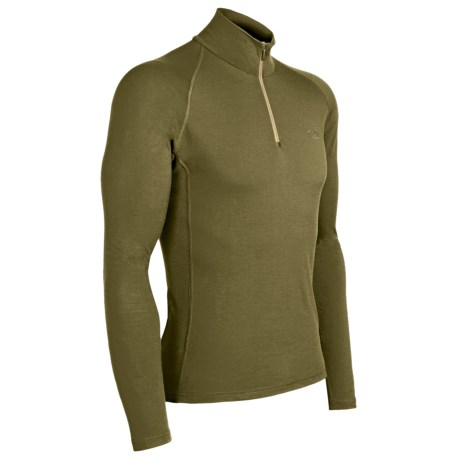 Icebreaker Bodyfit 200 Mondo Base Layer Top - Merino Wool, Lightweight, Long Sleeve (For Men)