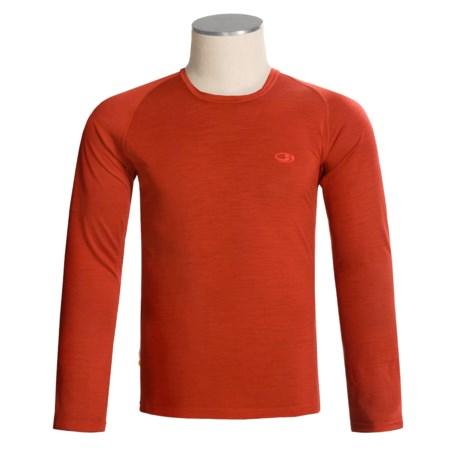 Icebreaker Bodyfit 150 Atlas Base Layer Top - Merino Wool, Ultralite, Long Sleeve (For Men)
