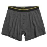 Icebreaker Beast 150 Relaxed Boxer Shorts - Merino Wool, Fly (For Men)