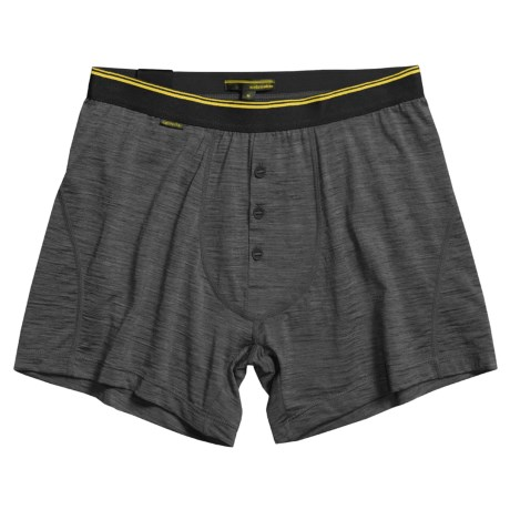Icebreaker Beast 150 Relaxed Boxer Shorts - Merino Wool, Fly (For Men)
