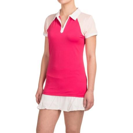 Reebok Vernal Polo Shirt - Short Sleeve (For Women)