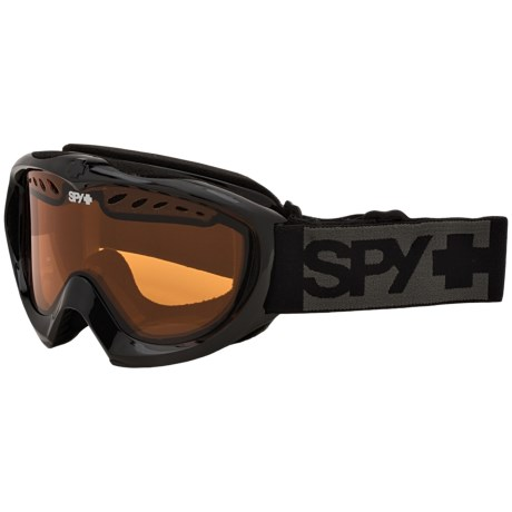 Spy Optics Targa Mini Black Ski Goggles (For Kids)