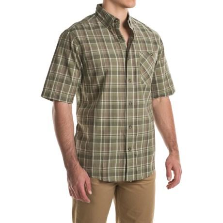 Woolrich Tall Pine Madras Shirt - Short Sleeve (For Men)